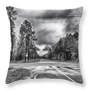 The Crossroads Throw Pillow