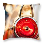 The Crown Vic Throw Pillow