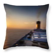 The Cruise Throw Pillow
