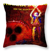 The Crystal Mouse Throw Pillow