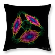 The Cube 2 Throw Pillow