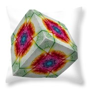 The Cube 3 Throw Pillow