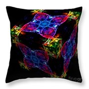 The Cube 4 Throw Pillow