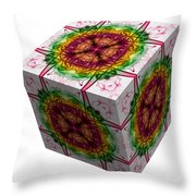 The Cube 5 Throw Pillow