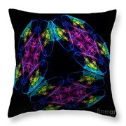 The Cube 6 Throw Pillow