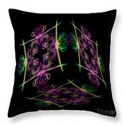 The Cube 7 Throw Pillow