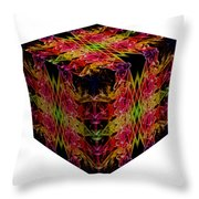 The Cube 8 Throw Pillow