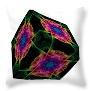 The Cube 9 Throw Pillow