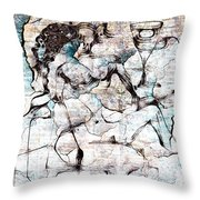 The Cup With Them. - Marucii Throw Pillow