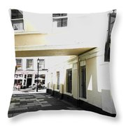 The Cupcake Cafe Throw Pillow