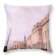 The Custom House, From London Throw Pillow