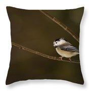 The Cutest Songbird Throw Pillow