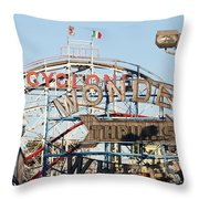 The Cyclone Throw Pillow