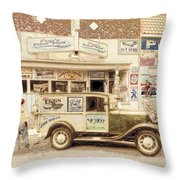 The Daily Delivery Throw Pillow
