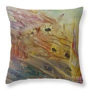 The Daisy Patch #1 Throw Pillow