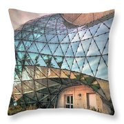 The Dali Museum St Petersburg Throw Pillow by Mal Bray
