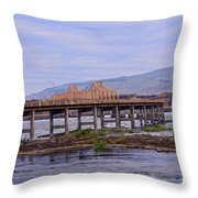The Dalles 2013 Throw Pillow