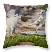 The Dance Of Joy Throw Pillow