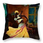 The Dancer Act 1 Throw Pillow