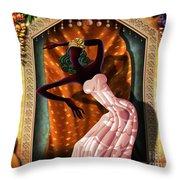 The Dancer V1 Throw Pillow