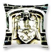 The Dark Eyed Angel  Throw Pillow