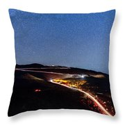The Dark Mountain Throw Pillow