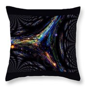 The Dark Three Throw Pillow