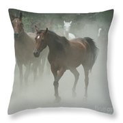 The Daughters Of A Desert Throw Pillow