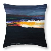 The Dawn Of Creation Throw Pillow