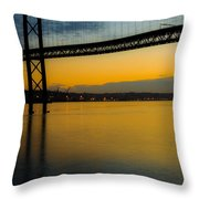 The Dawn Of Day II Throw Pillow