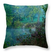 The Dawn Of Tranquility Throw Pillow