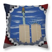 The Day Before Throw Pillow