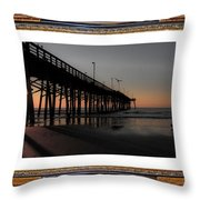 The Day Is Born Throw Pillow