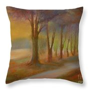 The Day Will  End Throw Pillow