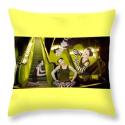 The De-escalating Dream - Self Portrait Throw Pillow