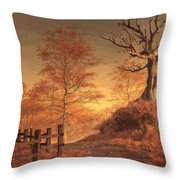 The Dead Tree Throw Pillow