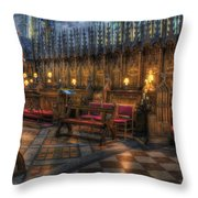 The Dean's Seat Throw Pillow by Ian Mitchell