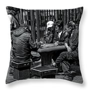 The Decisive Move Throw Pillow