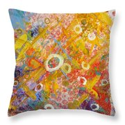 The Degrees Of Color  2 Throw Pillow