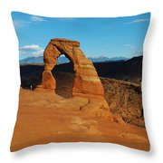 The Delicate Arch 10 Throw Pillow