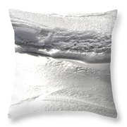 The Depths Of Layers Throw Pillow