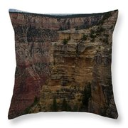 The Depths Of The Canyons Throw Pillow