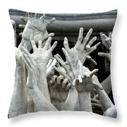 The Descension Of The Consumer 2 Throw Pillow