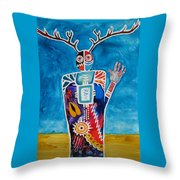 The Desert Is Calling You Throw Pillow