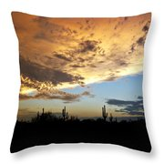 The Desert Sky  Throw Pillow