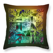 The Devil Is In The Details Throw Pillow