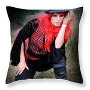 The Devil's Advocate Throw Pillow