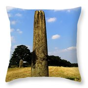 The Devils Arrows Throw Pillow
