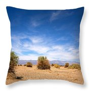 The Devil's Cornfield Throw Pillow by Jane Rix