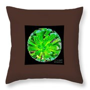 The Dew No.12 Throw Pillow